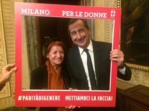PALAZZO MARINO, Milan 2017 - Anna Santinello and Giuseppe Sala, Mayor of Milan
