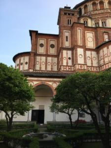 BASILICA SANTA MARIA DELLE GRAZIE - PICCOLA SACRESTIA DEL BRAMANTE, Milan 2019 - Anna Santinello