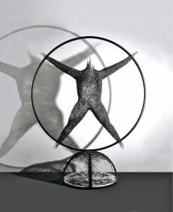 """""""Uomo di Vitruvio"""", 2002"""